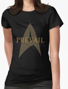 "Star Trek- ""Prevail"" Womens Fitted T-Shirt"