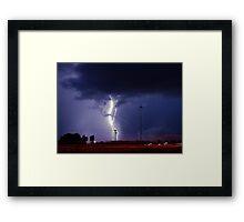 Georgia Storm Truckin' Framed Print
