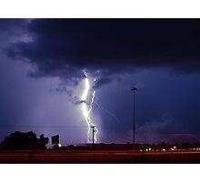 Georgia Storm Truckin' Photographic Print