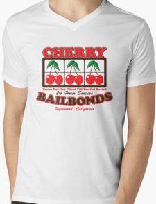 Cherry Bailbonds Mens V-Neck T-Shirt