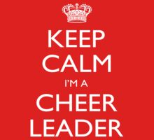 Keep Calm I'm A Cheer Leader - Tshirts, Mobile Covers and Posters by custom222