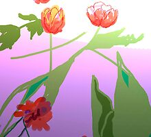 Fantasy Flowers by jimmie