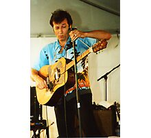 Paul James Acoustic - Mic. Stand Slide Photographic Print