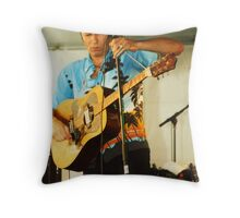 Paul James Acoustic - Mic. Stand Slide Throw Pillow