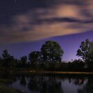 Murray River at Night 3 by John Vandeven
