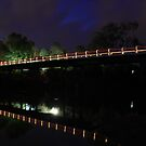 Murray River at night 4 by John Vandeven