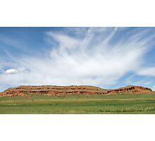 Red Ridge Photographic Print