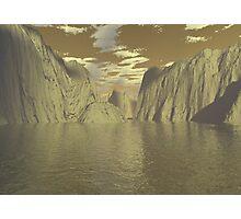 3d landscape Photographic Print