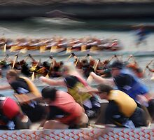 Dragon Boat Race by Mikeinbc1