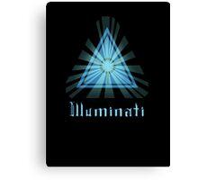 Illuminati Canvas Print
