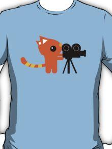 Kitty Cameraman T-Shirt