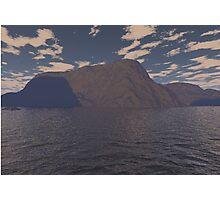 landscape in 3d Photographic Print