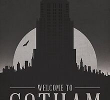 Batman - Welcome To Gotham City by davechaps