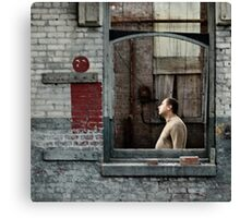 Frames: free interpretation Canvas Print