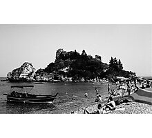 Isola Bella (cropped) Photographic Print