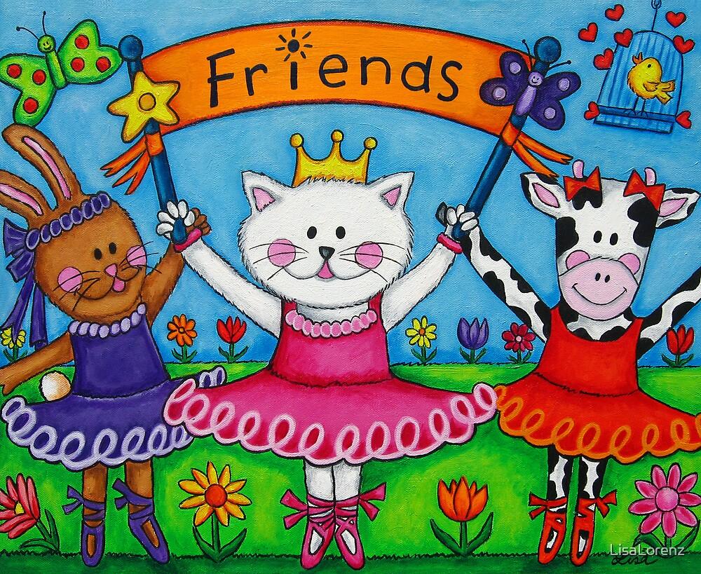 Ballerina Friends by LisaLorenz