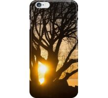 Fiery Sunrise - Like A Golden Portal To Another World iPhone Case/Skin