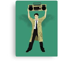 Say Anything Castiel... Canvas Print