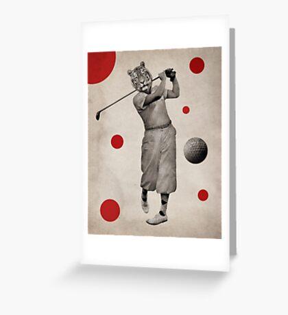 Anthropomorphic N°13 Greeting Card