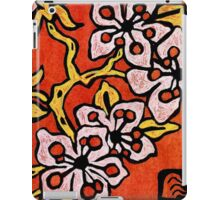 blossom detail iPad Case/Skin