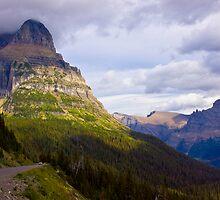 Dramatic Montana Mountains by photodivaanna