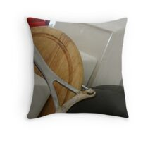 Saturday Dishes Series - The Pan Throw Pillow