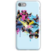 Butterfly woman iPhone Case/Skin