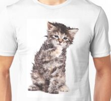 wet kitten Unisex T-Shirt