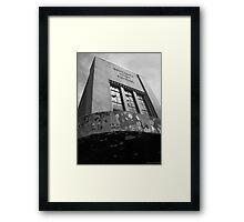 Abandoning Education Framed Print