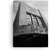 Abandoning Education Canvas Print