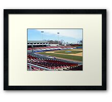 A Peaceful Day at the Park... Framed Print