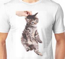 kitten held by scruff Unisex T-Shirt