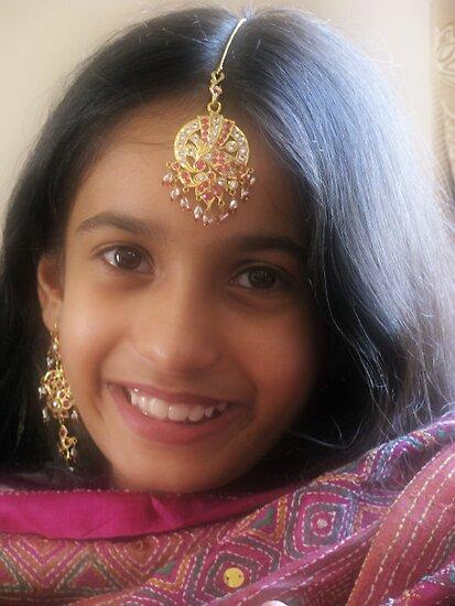 INNOCENT SMILES by kamaljeet kaur