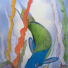 Parrot fish by Faye Doherty
