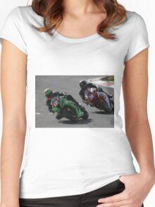 Australian Superbike Champs - Mallala 2015 (Part 2) Women's Fitted Scoop T-Shirt