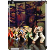 Street Fighter II pixel art iPad Case/Skin