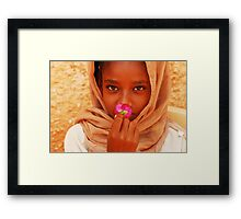 Flower of Peace Framed Print