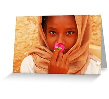Flower of Peace Greeting Card