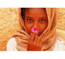 Flower of Peace Photographic Print