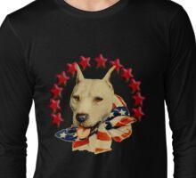 Vintage Pitbull Terrier T-Shirt Long Sleeve T-Shirt