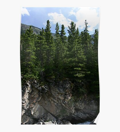 Rock Cliff Poster