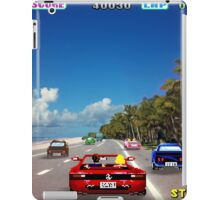Outrun retro pixel art iPad Case/Skin