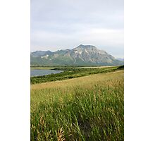 View from Middle Waterton Lake Photographic Print