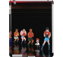 Mike Tyson - Punch Out pixel art iPad Case/Skin