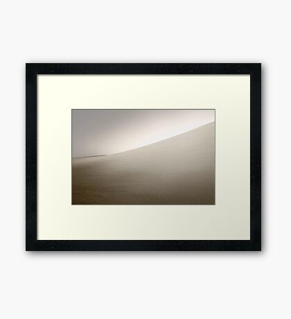 Dusk At The Dunes  Framed Print