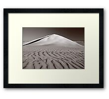Ripples In The Sand  Framed Print