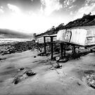 Old But Reliable (Monochrome) - Long Reef, Sydney- The HDR Experience by Philip Johnson