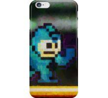 Mega Man retro painted pixel art iPhone Case/Skin
