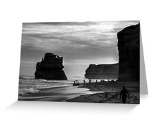 Beach On The Great Ocean Road Victoria Australia Greeting Card