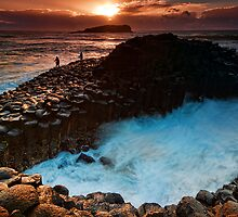 Sunrise at Fingal Head by Jason Pang, FAPS FADPA